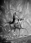 Александр Невский - Оловянная миниатюра. Чернение 54 мм