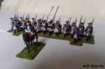 Семилетняя Война. Прусский Пехотный Полк 28 мм