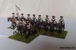 Семилетняя война. Прусский барон фон Киа 28 мм