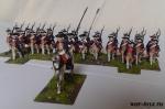 Семилетняя Война. Прусская Пехота 28 мм