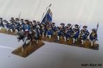 Семилетняя война. Французская пехота 28 мм