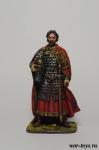 Русский князь Александр Ярославович Невский (1220-1263 гг.) - Оловянный солдатик коллекционная роспись 54 мм. Все оловянные солдатики расписываются художником в ручную