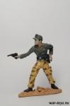 Офицер Дивизии «Герман Геринг» 1944 г. - Коллекционный оловянный солдатик. Высота солдатика 60 мм