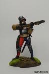 Арбалетчик - Оловянный солдатик коллекционная роспись 54 мм. Все оловянные солдатики расписываются художником в ручную