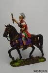 Конный римский военачальник, 1 век н.э. - Оловянный солдатик коллекционная роспись 54 мм. Все оловянные солдатики расписываются художником в ручную