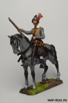 Европейский конный аркебузир, 1600 год - Оловянный солдатик коллекционная роспись 54 мм. Все оловянные солдатики расписываются художником в ручную