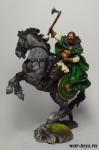 Конный викинг, 850 н.э. - Оловянный солдатик коллекционная роспись 54 мм. Все оловянные солдатики расписываются художником в ручную