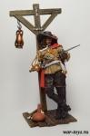 Мушкетер 75 мм - Оловянный солдатик коллекционная роспись 75 мм. Все оловянные солдатики расписываются художником в ручную