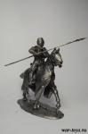 Рыцари Утремер 13 века - Оловянный солдатик. Чернение 54 мм