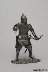 Монгольский лучник - Оловянный солдатик. Чернение. Высота солдатика 54 мм