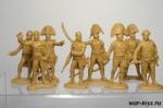 Набор солдатиков - Испано-португальский штаб (коричневый)