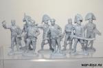Набор солдатиков - Испано-португальский штаб (сероголубой)