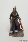Крестоносец - Оловянный солдатик коллекционная роспись 54 мм. Все оловянные солдатики расписываются художником в ручную
