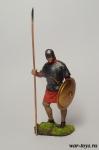 Византия. Пехотинец. 9-11 век - Оловянный солдатик коллекционная роспись 54 мм. Все оловянные солдатики расписываются художником в ручную
