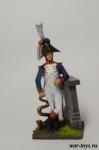 Гренадеры. Музыкант гвардии 1812 - Оловянный солдатик коллекционная роспись 54 мм. Все оловянные солдатики расписываются художником в ручную