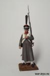 Регулярная пехота 1812-14 гг. Рядовой - Оловянный солдатик коллекционная роспись 54 мм. Все оловянные солдатики расписываются художником в ручную
