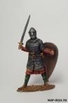 Норманнский рыцарь, XI век. - Оловянный солдатик коллекционная роспись 54 мм. Все оловянные солдатики расписываются художником в ручную