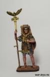 Аквилифер римского легиона. 1-2 вв. н.э. - Оловянный солдатик коллекционная роспись 54 мм. Все оловянные солдатики расписываются художником в ручную