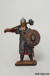 Вождь одного из кланов викингов. 9 век - Оловянный солдатик коллекционная роспись 54 мм. Все оловянные солдатики расписываются художником в ручную