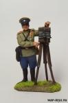 Полковой фотограф РИА - Оловянный солдатик коллекционная роспись 54 мм. Все оловянные солдатики расписываются художником в ручную