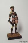 Командир отряда стимпанк Stormtrooper 75 мм - Оловянный солдатик коллекционная роспись 75 мм. Все оловянные солдатики расписываются художником в ручную