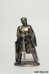 Король Ричард Львиное Сердце - Оловянный солдатик. Чернение. Высота солдатика 54 мм