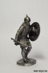 Турок-сипах 1453 год - Оловянный солдатик. Чернение. Высота солдатика 54 мм