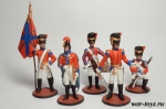 Набор оловянных солдатиков  - Англия 1812