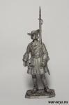 Фузилер солдатского пехотного полка, 1706-06