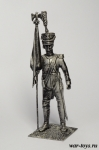 Обер-офицер Фузилер Средней Имп. гвардии. Франция 1812