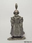 Великий Визирь, Оттоманская Империя, XVI в. - Оловянный солдатик. Чернение. Высота солдатика 54 мм