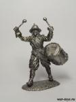Эпоха возрождения - Оловянный солдатик. Чернение. Высота солдатика 54 мм