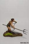 Гладиатор - Оловянный солдатик коллекционная роспись 54 мм. Все оловянные солдатики расписываются художником в ручную