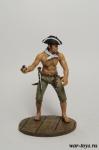 Пират с гранатой - Оловянный солдатик коллекционная роспись 54 мм. Все оловянные солдатики расписываются художником в ручную