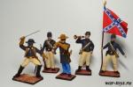 Набор оловянных солдатиков. Гражданская война