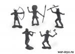 Набор солдатиков Индейцы (пластик)