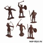 Набор солдатико Викинги (пластик)