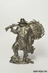 Американский траппер, XVIII-XIX вв. - Оловянный солдатик. Чернение. Высота солдатика 54 мм