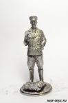 Маргелов В.Ф. - Оловянный солдатик. Чернение. Высота солдатика 54 мм