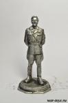 Товарищ Исаев - Оловянный солдатик. Чернение. Высота солдатика 54 мм