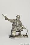 Рядовой калмыцкого полка, 1812 - Оловянный солдатик. Чернение. Высота солдатика 54 мм