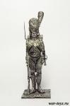 Рядовой Голландских гренадер Сред. Имп. гвардии. Франция 1812 - Оловянный солдатик. Чернение. Высота солдатика 54 мм
