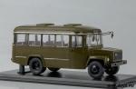 Армейский автобус КАвЗ-3976 (хаки) 1/43