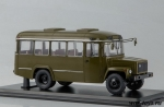 Армейский автобус КАвЗ-3976 (хаки) 1/43 - Масштабная коллекционная модель масштаб 1:43