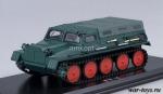 ГТ-С с тентом 1954г. (темно-зеленый) 1/43 - Масштабная коллекционная модель масштаб 1:43