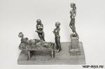 Римский вечер 40 мм - Оловянная миниатюра. Высота фигурок 40 мм