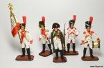 Набор оловянных солдатиков. Наполеоновские войны