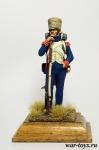 Фузилер егерского караула 1810