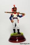 Вольтижёр 8-го пехотного полка. Польша, 1808-10 гг.
