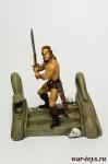Конан-варвар - Оловянный солдатик коллекционная роспись 54 мм. Все оловянные солдатики расписываются художником в ручную